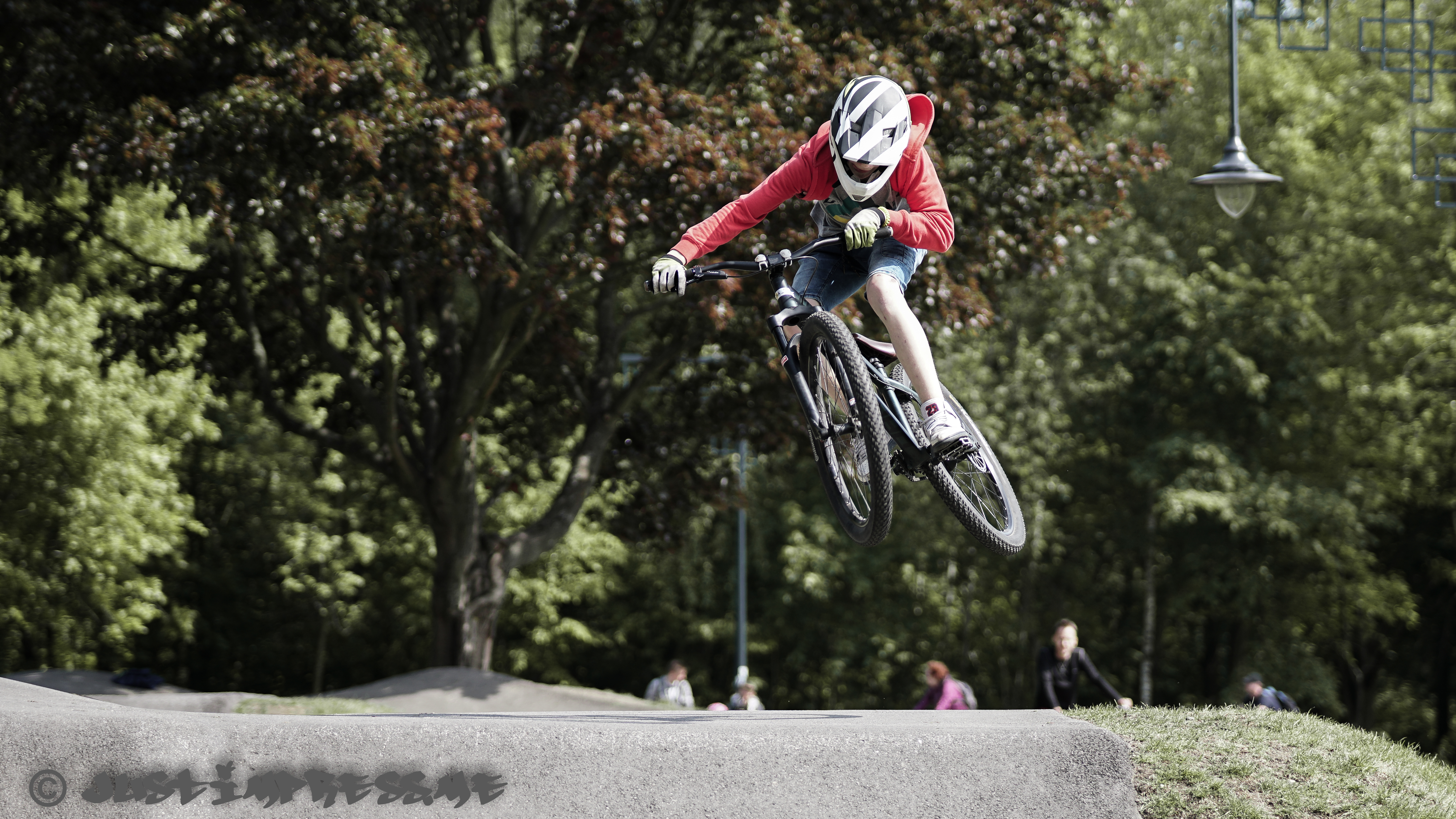 Young at heart – Pump track Lodz Zdrowie 2018